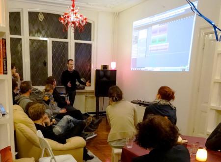 Presentatie Audio Highlights aan R-Co